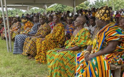 KENTE: NOT JUST ANY OLD CLOTH. HISTORY OF KENTE