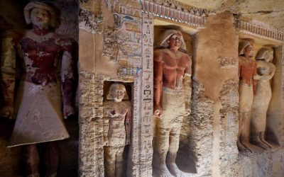 4,400-Year-Old Egyptian Tomb Discovered in Ancient Burial Ground