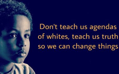 Teach your children African/Black History to change future of Africa & Black people