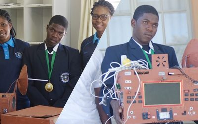 """A Teenager From Namibia Invents A """"Sim-Less"""" and """"Airtime-Free"""" Phone"""