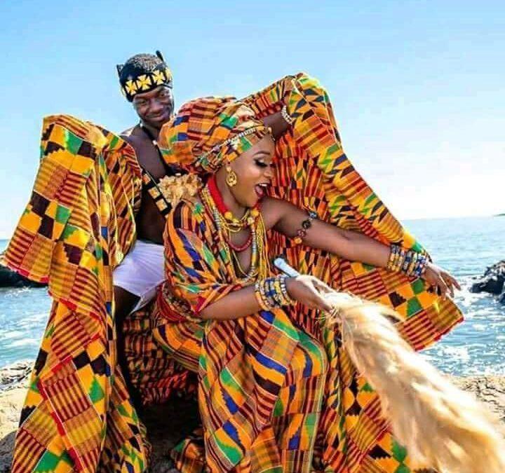 THE KENTE DRESS IN GHANA